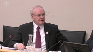 Martin McGuinness has appeared before the PAC