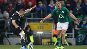 Luke Fitzgerald in action against the All Blacks in 2013