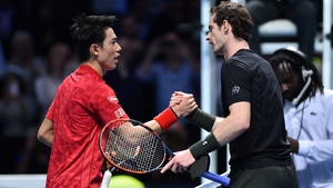 Andy Murray improved his winning head-to-head record against Kei Nishikori to 8-2