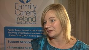Catherine Cox said there will be 12 centres receiving additional funding but that there are carers in 26 counties