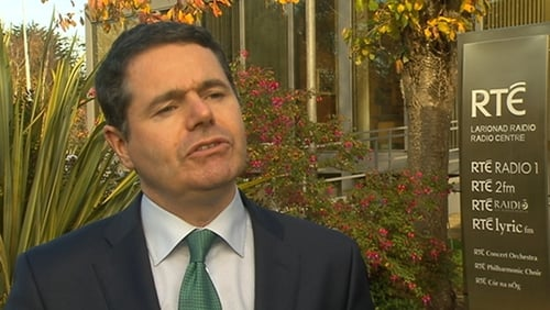 Paschal Donohoe said the Lansdowne Road Agreement is intact and must remain intact