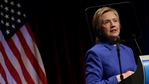 Looking to the future: Hillary Clinton