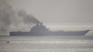 The Admiral Kuznetsov aircraft carrier will be the first of Russia's military deployment to return from Syria