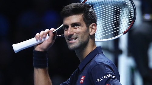 Djokovic had few problems dispensing with Goffin