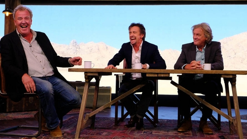 The trio have presented together since the early 2000s on Top Gear, before moving to Amazon Prime for The Grand Tour