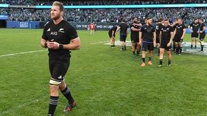 Ireland stopped New Zealand's 18-game winning run in Illinois