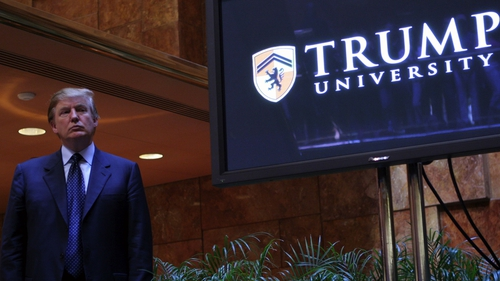 Trump agrees to $25M settlement to resolve Trump U lawsuits