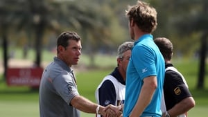 Lee Westwood and Chris Wood in 2013