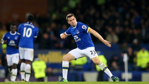 Seamus Coleman's late header earned a point for the home side