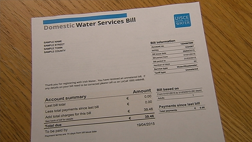 Close to one million customers of Irish Water paid, or partially paid, water charges