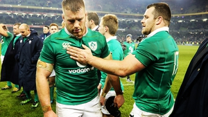 Ireland put in a brave effort against New Zealand