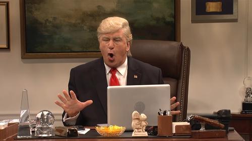 Alex Baldwin as President-elect Donald Trump