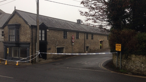The body was found at an apartment in Roscrea