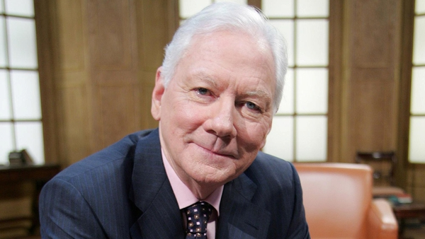 Gay Byrne has revealed concerns over a cancer diagnosis on air