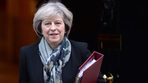 Theresa May addressed UK business leaders today
