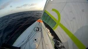 O'Coineen crossed the equator at the weekend