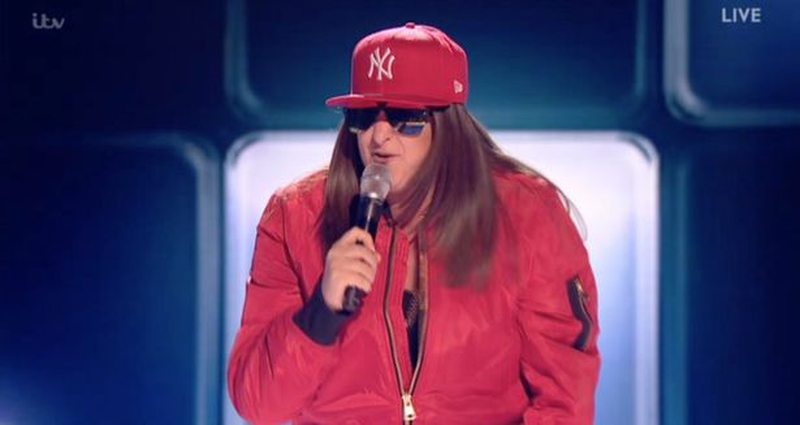 "The rapper's new tune is called ""The Honey G show"""