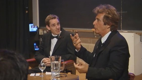 Ryan Tubridy and Al Pacino (2006)