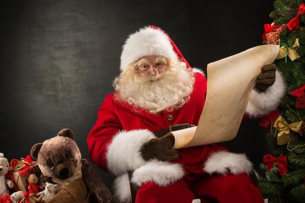Parenting: Visiting Santa
