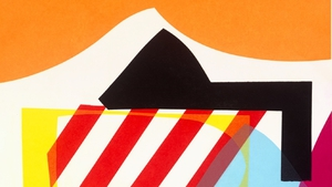Detail from Untitled, by Maser, on display at Graphic Studio Gallery during Dublin Gallery Weekend