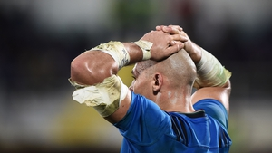 Sergio Parisse helped Italy to a famous win