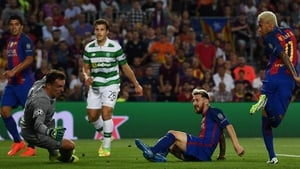 Messi scored a hat-trick when the sides last met