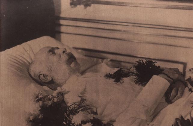Franz Josef Lies in State