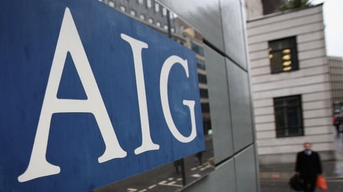 AIG says it it looking at half a dozen locations, including Dublin, if it decides to move from London