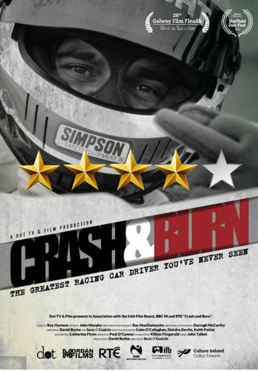 Crash and Burn, the greatest racing driver you've never seen