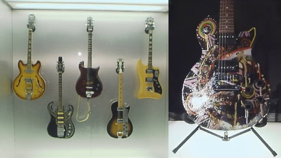 Guitar Exhibition at National Museum of Ireland (2006)