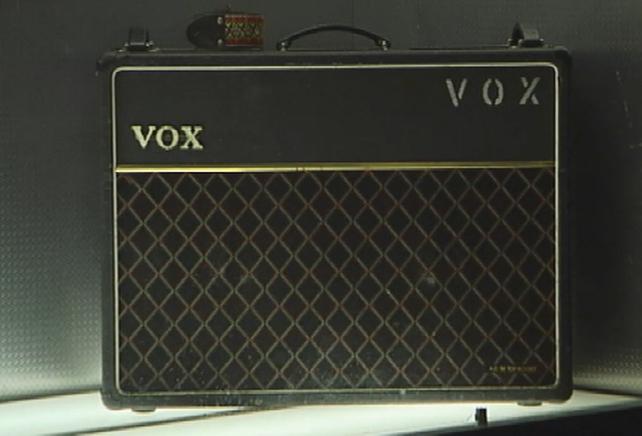 Vox Amp at Guitar Exhibition (2006)