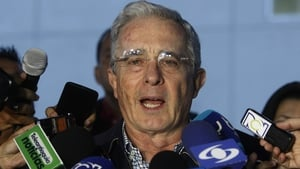 Alvaro Uribe said improvements have been made in the deal but there is still a way to go