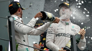 The Mercedes team-mates dominated this year's championship