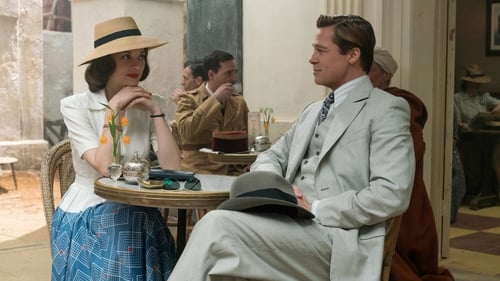 Cotillard and PItt in Casablanca: This could be the beginning of a beautiful friendship. . .
