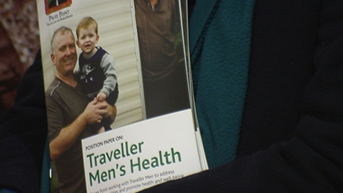 The suicide rate among male Travellers is seven times the national average