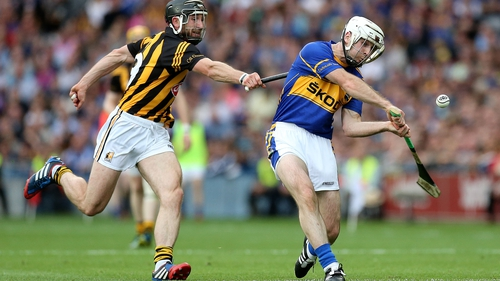 Gearoid Ryan (R) pictured in the 2014 All-Ireland final replay
