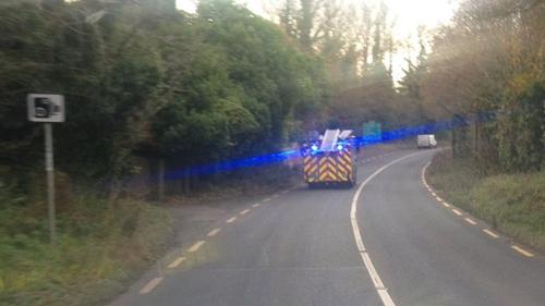 Three units of the Dublin Fire Brigade attended the scene (Pic: Dublin Fire Brigade)