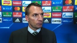 "UEFA Champions League: Rodgers - Celtic have learned from ""harsh"" Barca lesson"