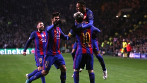 Barcelona easily topped their Champions League group to qualify for the knockout stages