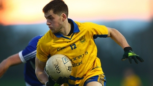 Jamie Barron in action for The Nire