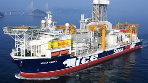 The Stena IceMAX had drilled Providence Resources' 53/6-1 Druid/Drombeg exploration well