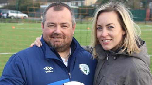 Chris McElligott and Kathryn Thomas