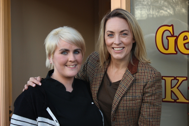 Kathryn Thomas and Marie Grace