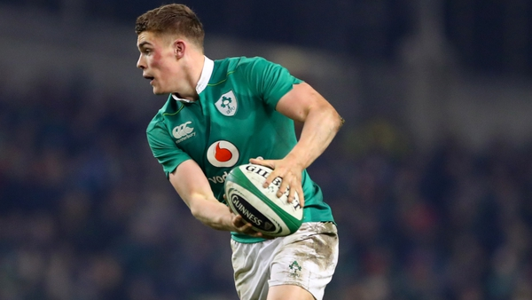 Ringrose will make just his third international appearance when Ireland face Australia