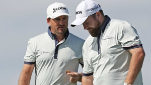 Graeme McDowell and Shane Lowry carded a round of three under par