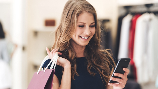 track your shopping habits with an app
