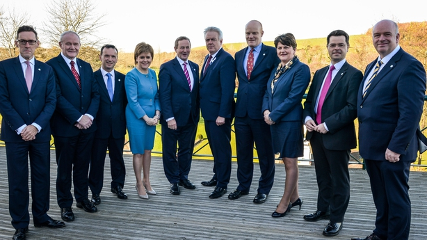 Principle members of the British Irish Council