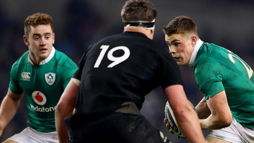 Paddy Jackson and Garry Ringrose start for Ireland