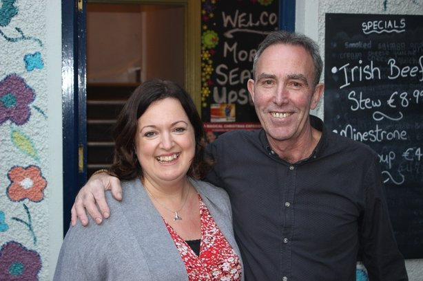 Yvonne Keenan-Ross with her husband Stephen