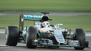 Hamilton was comfortably fastest at Yas Marina